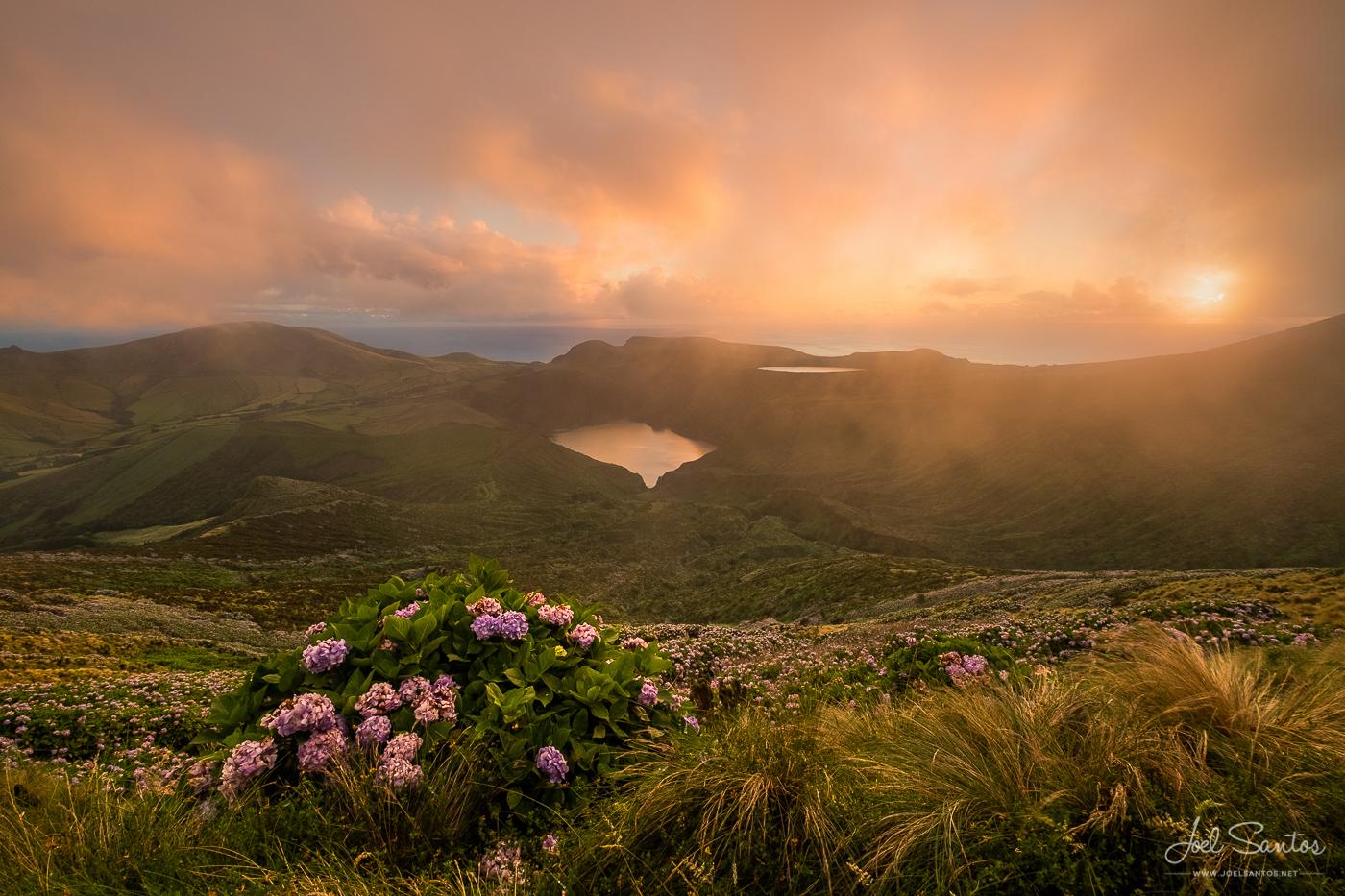 Caldeiras Rasa e Funda - Ilha das Flores - Joel Santos