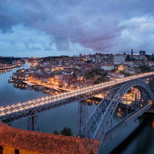 Vista sobre o Porto